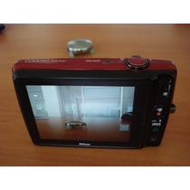 Excelente Camara Nikon 16mpx, Coolpix S4200, Usada