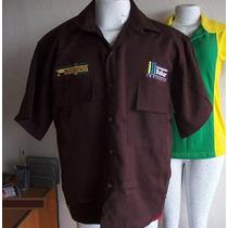 Dos Camisas Tipo Columbia Caballero Nuevas Bordadas S - Xl