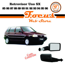 Retrovisor Externo Uno Sx 85/96 C Controle Manual Le