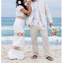 Vestido Branco De Renda, Estilista Ingrid Lima