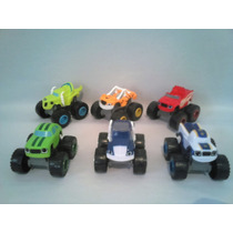 Blase Monster Machines C/6 Coleçao Completa