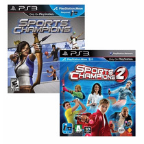 Sport Champions 1 Y 2 Ps3 Digital Express Game