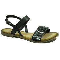 Sandalias Mujer Fantasias Cuero Anca Co Zapatos Mujer Ana