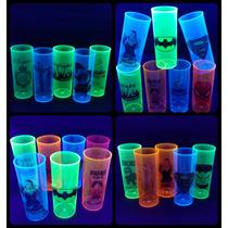 Kit 400 Copos Neon Personalizados Frete Grátis 12x Sem Juros