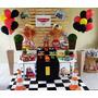 Kit Decoração - Festa Carros - Aluguel De Mesa