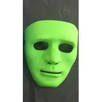 Máscara Jabbwockeez Dança Teatro Fantasia Verde Azul