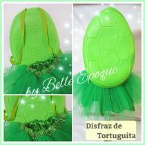 Disfraz De Tortuguita Con Caparazon