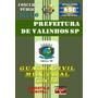 Apostila Concurso Prefeitura Valinhos Sp Guarda Muncipa 2016