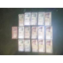 Lote De 16 Antiguos Billetes Peruanos