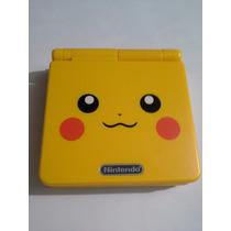 Game Boy Advance Sp Pikachu Pokemon Carcasa