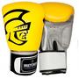 Luva De Boxe Pretorian Training - Amarelo E Preto - 14oz