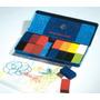 Stockmar Alemania Caja Metal 16 Crayones Bloques Cera Abeja