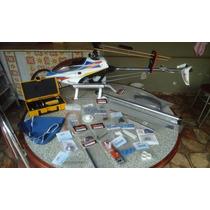 Helicóptero Titan Raptor 50 3d Vendo Ou Troco Por Aero A Gas