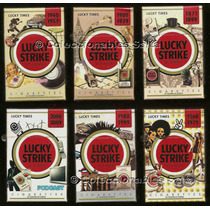 6 Lucky Strike Box 20 Lucky Times 2009 Llenos