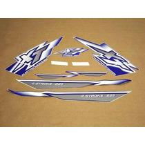 Kit Adesivos Yamaha Xt 225 2000 Azul