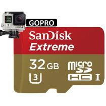 Memoria Micro Sd Hc Sandisk Extreme 32gb U3 C-10 Uhs-i Gopro