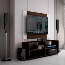 Rack Com Painel Para Tv Tabaco Br 261-50 E S/juros S/frete