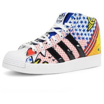 Zapatillas Adidas Superstar Up Modelo Exclusivo Preg. Stock