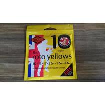 Encordoamento Rotosound Roto Yellows 6 Cordas 0.10