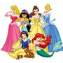 Kit Imprimible Princesas Disney Full Fiesta 3x1