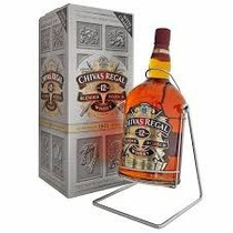 Botellon Whisky Chivas Regal 4,5l 12 Años C/volcador Import