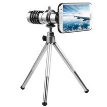 Lente Zoom 12x Con Tripie Para Samsung Galaxy S4 Y Base