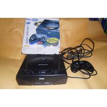 Console Sega Saturno Preto Nacional Caixa De Brinde Leia