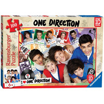 Rompecabezas - Ravensburger One Direction Xxl 100 Pieza