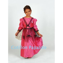 Disfraz Patrio Vendedora Ambulante Dama Antigua Paisana