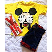 Conjunto Infantil Fantasia Mickey Mouse
