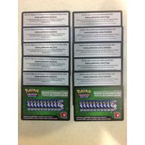 10 Códigos Cartas De Pokemon Online
