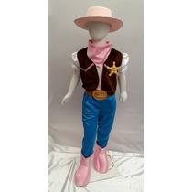 Disfraz Tipo Sheriff Callie Vaquera Con Sombrero