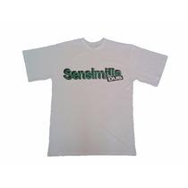Camiseta Folhas Sensimilla Dub Banda Reggae