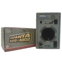 Espanta Rato Eletrônico 300m² Zebu Ermu 1/5 + 1 Emissor Extr