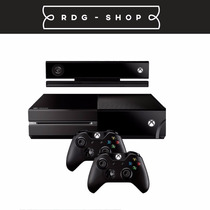 Xbox One 500gb C/ Kinect 2 Controles + Jogo + Headset