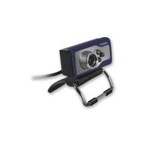 Webcam Camara Web Hd Microfono Luz Led Boton Captura