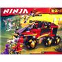 Ninja (ninjago) Marca Bela, 755 Pcs.lego