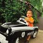 Carro De Pedal Para Niños Policia - Instep - Importados