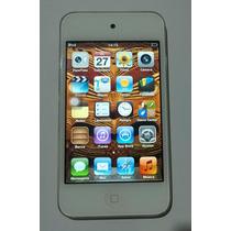 Ipod Touch 64gb Apple 4 Geração Branco Cabo Mp3 - Usado