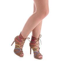 Sandália Salto Feminina Lara - Color