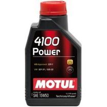 Motul 4100 15w50 Power 15w50 Óleo Motor 1lt