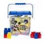 Bloques Con Puzzle 50 Piezas De Mickey - Tuni Sb002