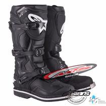 Botas Alpinestar Tech 1 Negra Moto Cross Atv Enduro Moto Sur