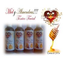 Tónico Facial De Miel Y Almendras Bee Happy & Honey