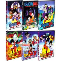 Coleccion 6 Peliculas Dragon Ball Dvd Español Latino