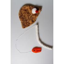Conjunto Varinha, Peixinho E Chapéu Modelo Pescador Cenário