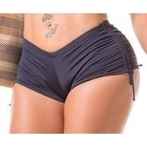 Biquini Sunquini Shorts Praia Forrado Laterais Regulaveis