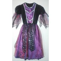Disfraz De Bruja Princesa Original Carnavalito - Talla 6