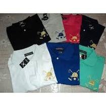 Camisa Camiseta Polo Play Masculina Diversar Cores