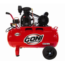 Compresor C/motor Weg 0.5 Hp Y 50 Lt Goni Gon9302wmx